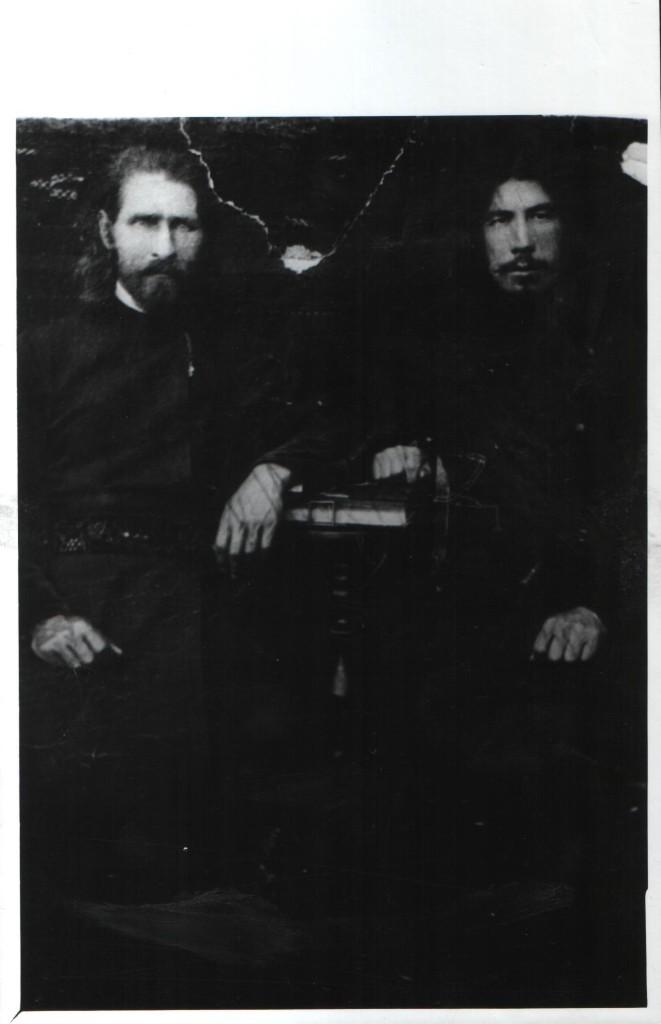 Отец Иоанн Марсов, бывший настоятель Никольской церкви, с. Кага, начло 20 в.