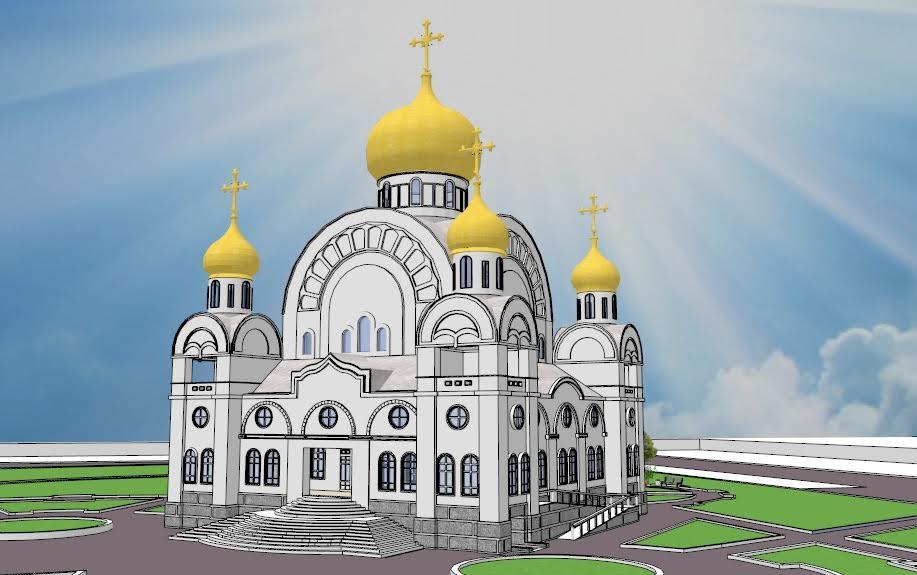 Строительство Свято-Никольского храма в г.Белорецк
